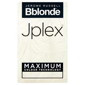 Jerome Russell BBlonde Jplex Hair Bond Strengthening System Now £4 @ Morrisons ( online only ) (Min basket £40 + up to £5 delivery)