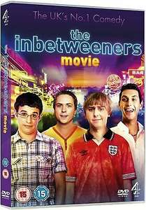 The Inbetweeners Movie DVD - £1.89 @ stockmustgo / eBay