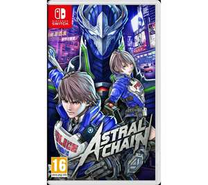 Astral Chain (Nintendo Switch) - £34.03 delivered (with code) @ Currys eBay