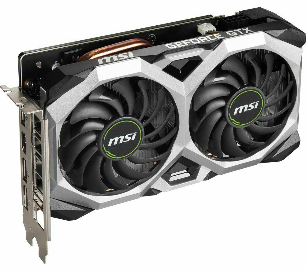 MSI GeForce GTX 1660 6 GB SUPER VENTUS Graphics Card £216 @ Currys / eBay