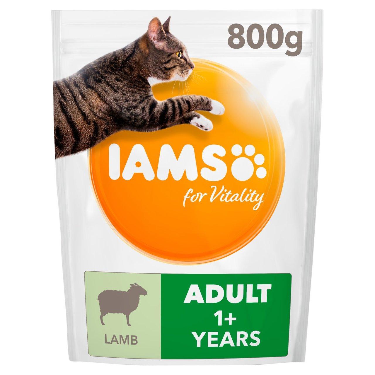Iams adult cat food, lamb & salmon 800g £2 @ Morrisons
