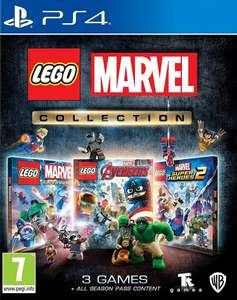 Lego Marvel Collection - Includes 3 games & All DLCs (PS4/box One) £22.95 Delivered @ The Game Collection