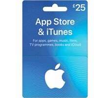ITUNES £25 App Store & iTunes Gift Card for £22.50 delivered @ Currys eBay
