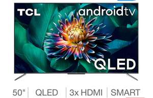 TCL 50C715K 50 Inch QLED 4K Ultra HD Smart Android TV £449.89 @ Costco