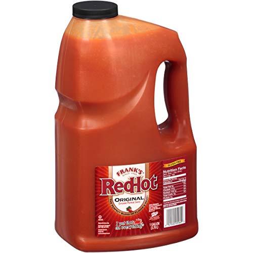 Frank's RedHot Original Cayenne Pepper Sauce 3.78 Litre Bottle £17.89 at Amazon Prime / £22.38 Non Prime