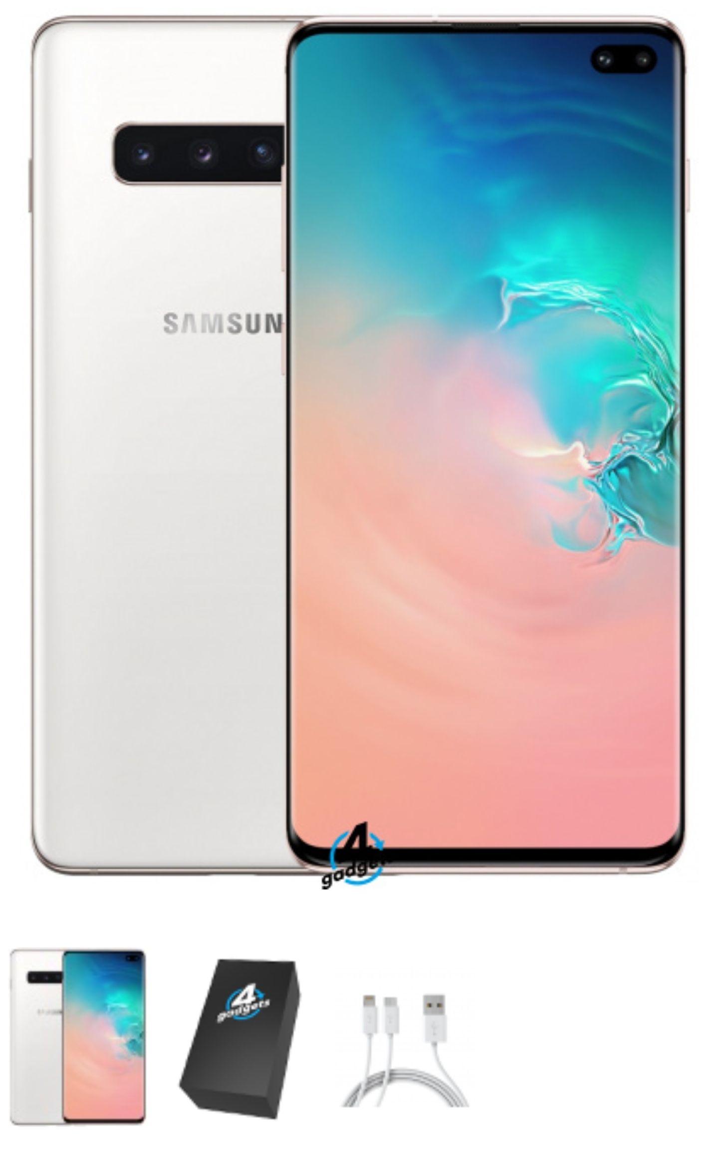 Excellent condition Unlocked 1TB / 512gb Samsung Galaxy S10 Plus Ceramic White. 1TB = £493.99 or 512gb £436.99 @ 4gadgets