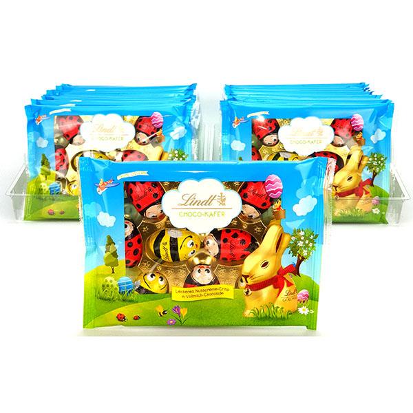 24 x Lindt Bugs & Bees Milk Chocolate With Hazelnut 100g Packs £15 @ Yankee Bundles (BBE August 2020)