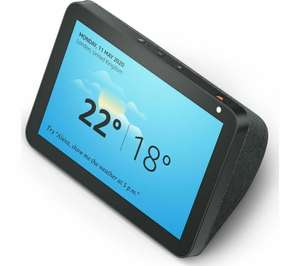 AMAZON Echo Show 8 (2019) - Charcoal £76.49 with code Currys / eBay