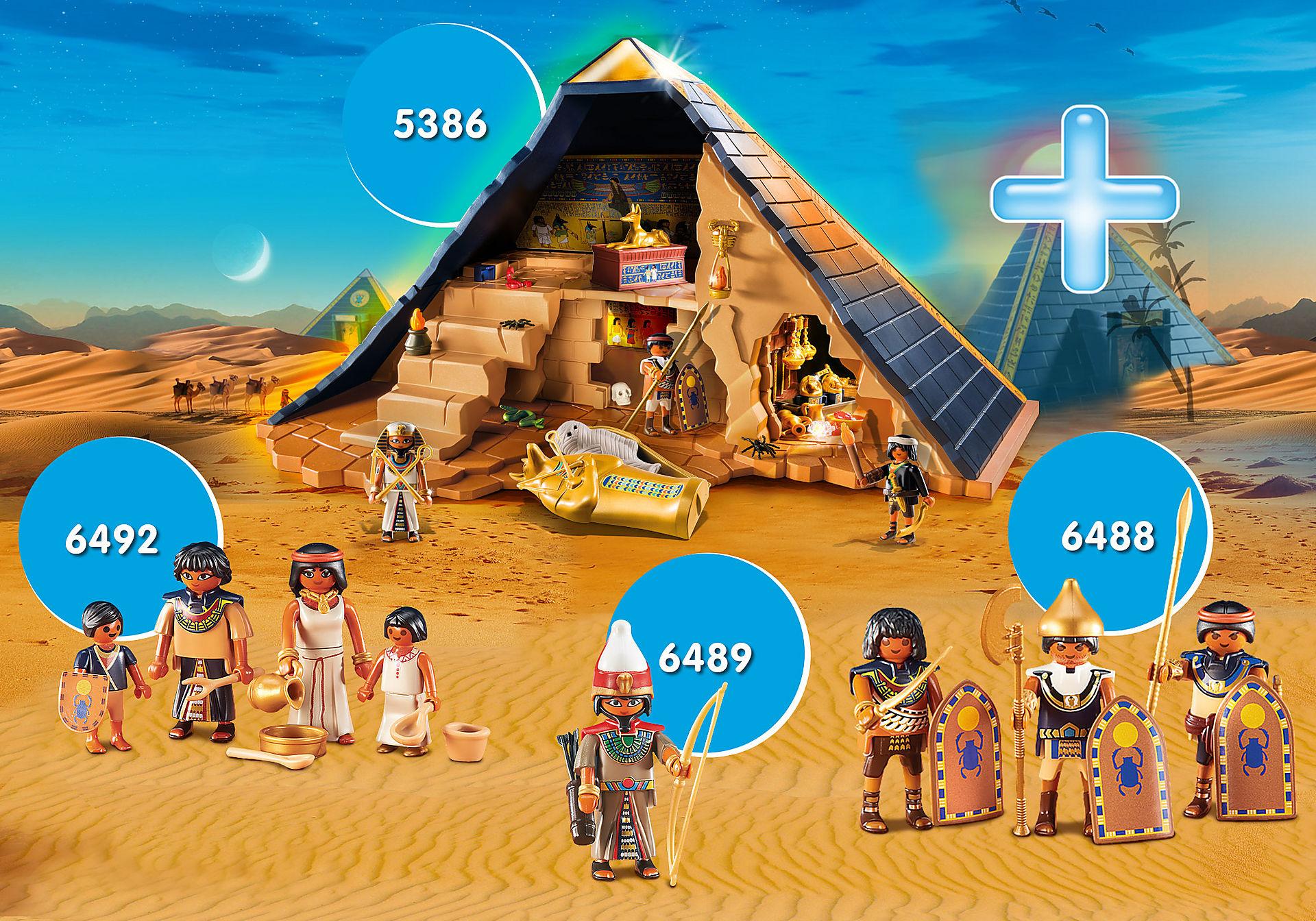 Playmobil Pyramid Bundle £32 (Using code) + Free delivery @ Playmobil