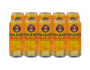 21x500ml cans of Paulaner Helles Lager - £40.67 with code @ Beer52 (+£12 Amex cashback +£4.68 Quidco premium cashback subs or )