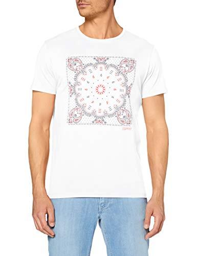 ESPRIT Men's T-Shirt in white and black - £5.99 (+£4.49 non-Prime) @ Amazon
