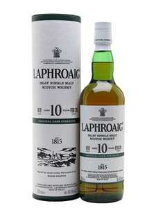Laphroaig 10 Year Old Cask Strength Batch 012 £73.95 @ The Whisky Exchange