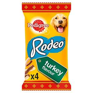 Pedigree Christmas Gift Rodeo Dog Treats with Turkey, 20 x 4 Sticks (20 x 70 g) OOS £6.03 + £4.49 NP @ Amazon