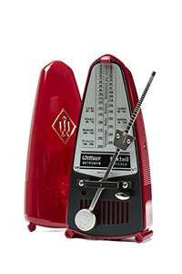 Wittner 903082 Taktell Piccolo Metronome - Ruby Red £31 @ Amazon