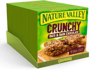 Nature Valley Oat & Chocolate, 5 Pack (5 x 210 g) - £5 Prime + £4.49 Non Prime - Amazon