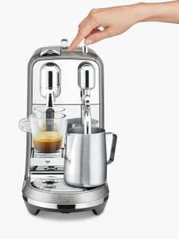 Nespresso Sage Creatista Plus Coffee Machine, Smoked Hickory £299 (Free P&P) John Lewis & Partners