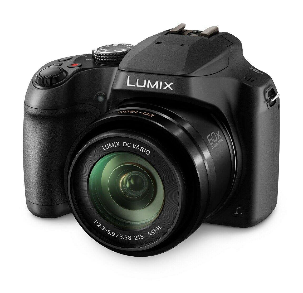 New Panasonic DC-FZ82EB-K Lumix Digital Bridge Camera 18.1MP 60x Zoom, brand new - £224.99 delivered with code @ Panasonic / eBay