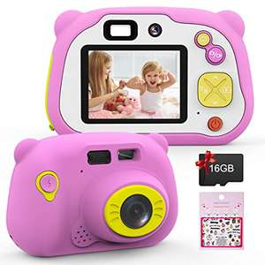 Mansso Kids Camera, Dual Lens Kids Digital Camera,1080P - £18.69 Prime / +£4.49 non Prime Sold by Zoyun and Fulfilled by Amazon