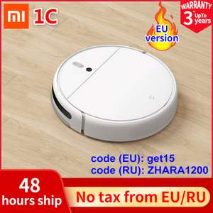 XIAOMI MIJIA C1 Vacuum cleaner robot - £146 With Code and free fees card or £150 when paid in Gbp @ Aliexpress Chinese Superlife Store