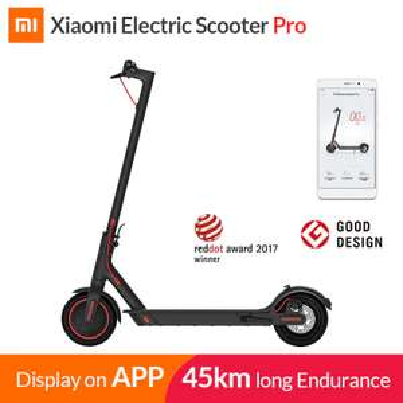 Xiaomi Mi Electric Scooter Mijia M365 Pro (from EU) - £358.09 @ Aliexpress Deal / Xiaomi MC Store