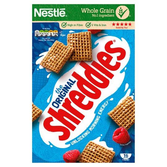Nestle Shreddies Original Cereal 675G £1.50 at Tesco
