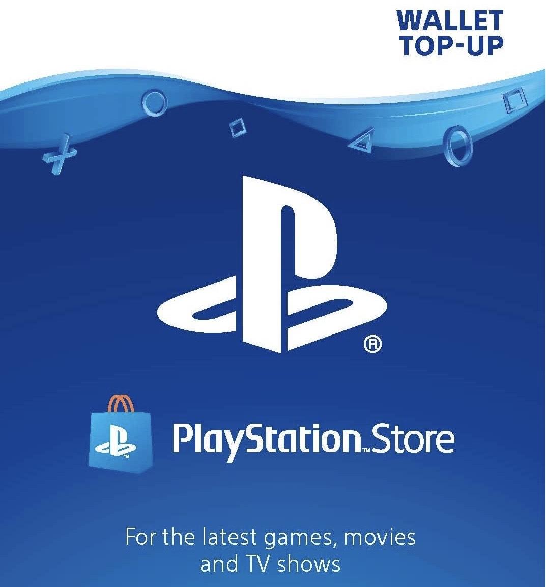 Playstation Network Wallet Top Ups: £30 = £25.85 / £35 = £29.85 / £40 = £33.85 / £45 = £37.85 / £50 = £42.85 @ ShopTo