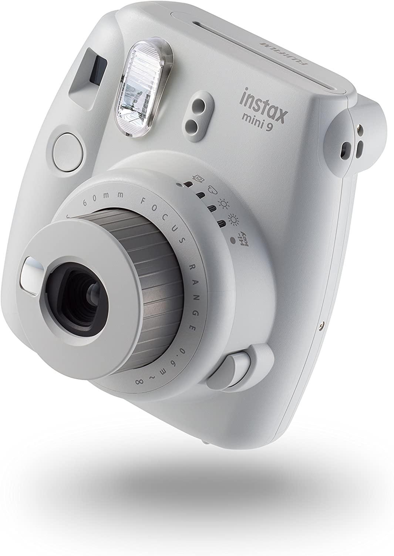 instax Mini 9 Camera with 10 Shots - Smoky White - £48.74 using voucher @ Amazon