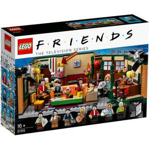 LEGO Ideas: Friends Central Perk (21319) £58.99 & up to 5% TCB at iwantoneofthose