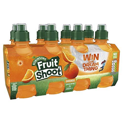 Robinsons Fruit Shoot Fruit Juice, No Added Sugar, Orange, 200 ml, Pack of 8 - £1 @ Amazon Pantry (£3.99 delivery, minimum £15 spend)