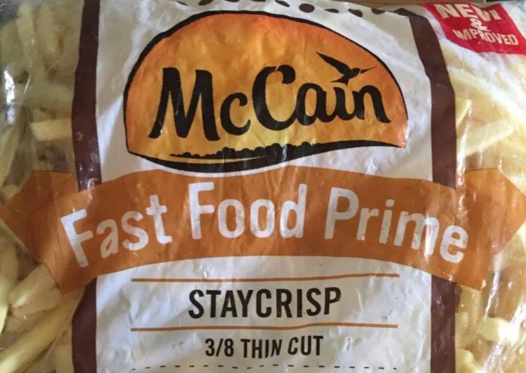 McCain chips £2 at Heron Foods Milton Keynes