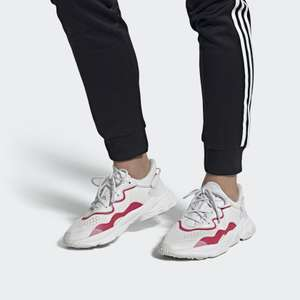 Adidas Ozweego trainers crystal white / core red £33.73 delivered at Adidas Shop using code
