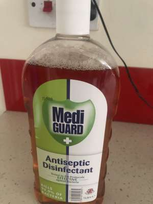 Antibacterial disinfectant 1 L 79p at Savers Peterborough