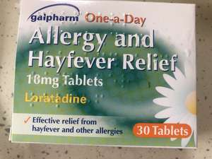 Hay fever relief 30 for 99p instore @ Savers (Peterborough)