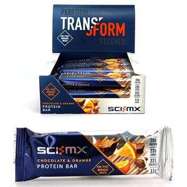 12 x SCI-MX Chocolate Orange 60g Protein Bars - £5 delivered @ Yankee Bundles