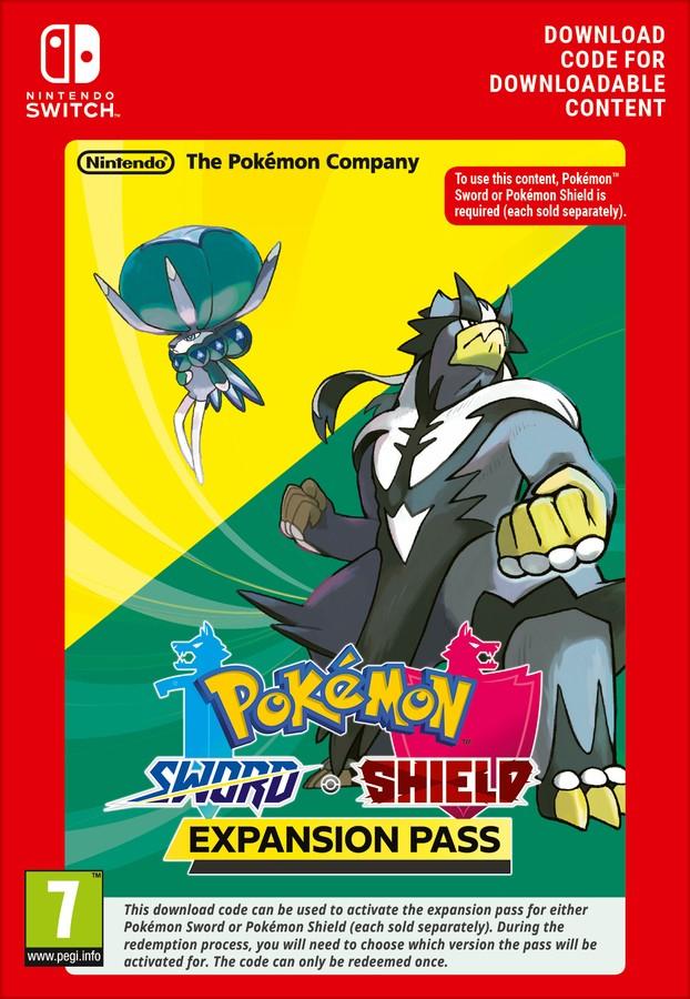 Pokemon Sword or Shield Expansion Pass (Nintendo Switch) £19.85 @ Shopto