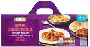 Meals for Two (Indian Chicken Korma | Jalfrezi | Madras | Tikka Masala or Chinese Chicken Curry & Sweet and Sour Chicken) £5 @ Asda