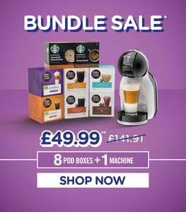 Dolce Gusto Mini Me + 8 packs of pods - £49.99 delivered @ Nescafe Dolce Gusto