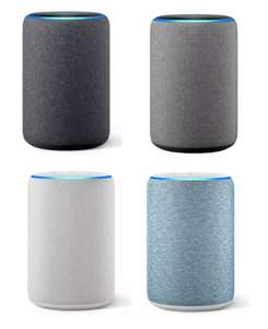 Amazon Echo (3rd Generation) Wireless Speaker with Alexa - All colours- £54.99 Free C&C or +£3.95 Delivered @ Argos