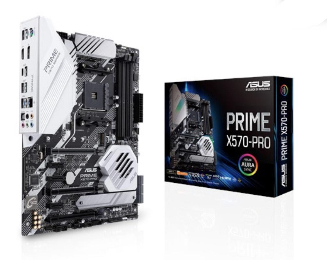 Asus PRIME X570-PRO AMD Ryzen DDR4 RGB ATX Motherboard - Socket AM4 £216.99 at AWD-IT