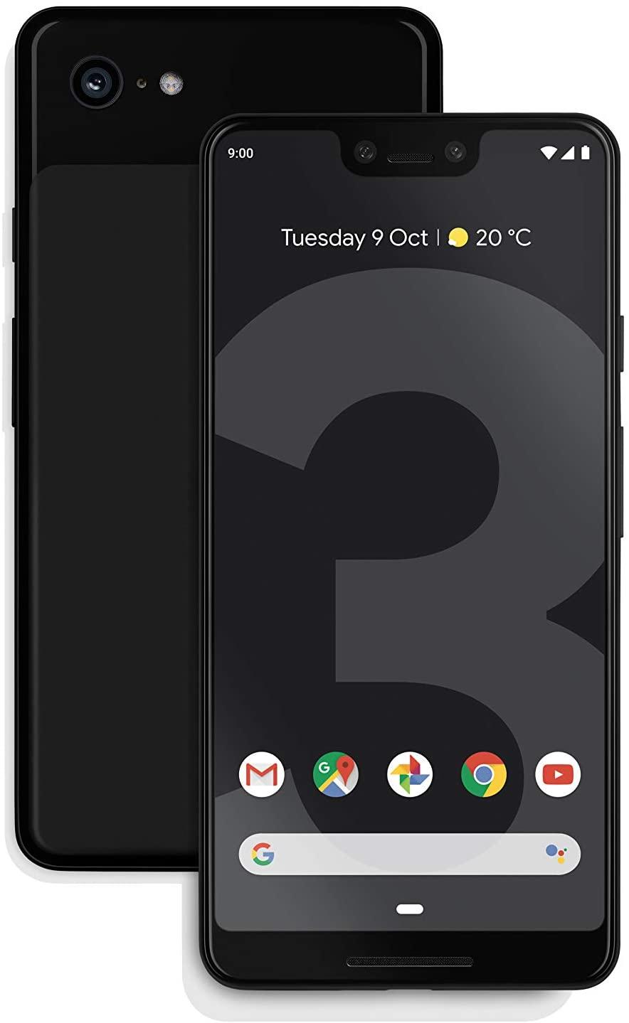 Google Pixel 3 XL, 128GB, Black, SIM Free £468.94 @ Amazon