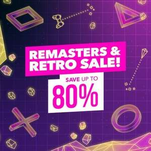 Remasters & Retro Sale @ PlayStation PSN Indonesia