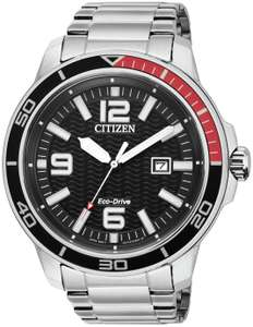 Citizen Men's Eco-Drive Stainless Steel Bracelet Watch - £85.99 + free Click and Collect / £3.95 delivery @ Argos