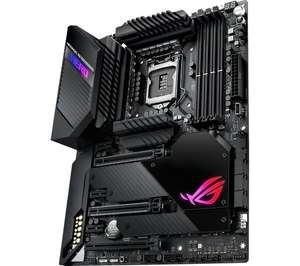 ASUS ROG MAXIMUS XII HERO Z490 Intel 10th gen LGA1200 Motherboard ATX NVIDIA SLI - £386.99 delivered using code @ Currys PC World / eBay
