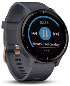 Garmin Vivoactive 3 Music Smart Watch-Rose Gold/Granite £149.99 (Free Collection/Or £3.95 Delivery) @ Argos