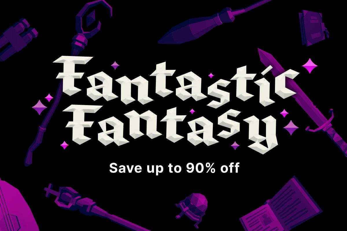 Fantasy Asset Bundle for UNITY 3D £30.21 @ Unity asset store