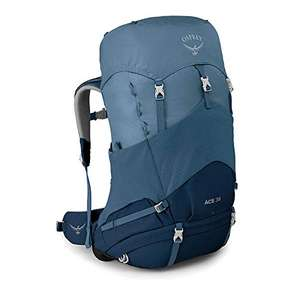 Osprey Ace 38 Unisex Youth Hiking Pack (blue hills colour only) £53.60 at Amazon
