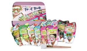 Montagne Jeunesse 7th Heaven 10 piece Tin Of Treats Gift Set contains 9 Face masks and 1 applicator £8.49 with free C&C From Argos