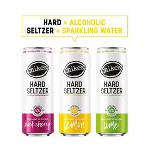 Mike's hard seltzer £2 Tesco + Morrisons FREE with cashback from CheckoutSmart