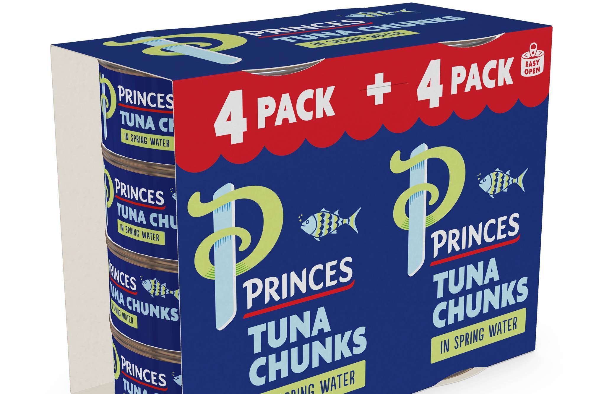 Princes tuna in spring water 8pk x 145g - £1.50 instore @ Tesco, Portadown