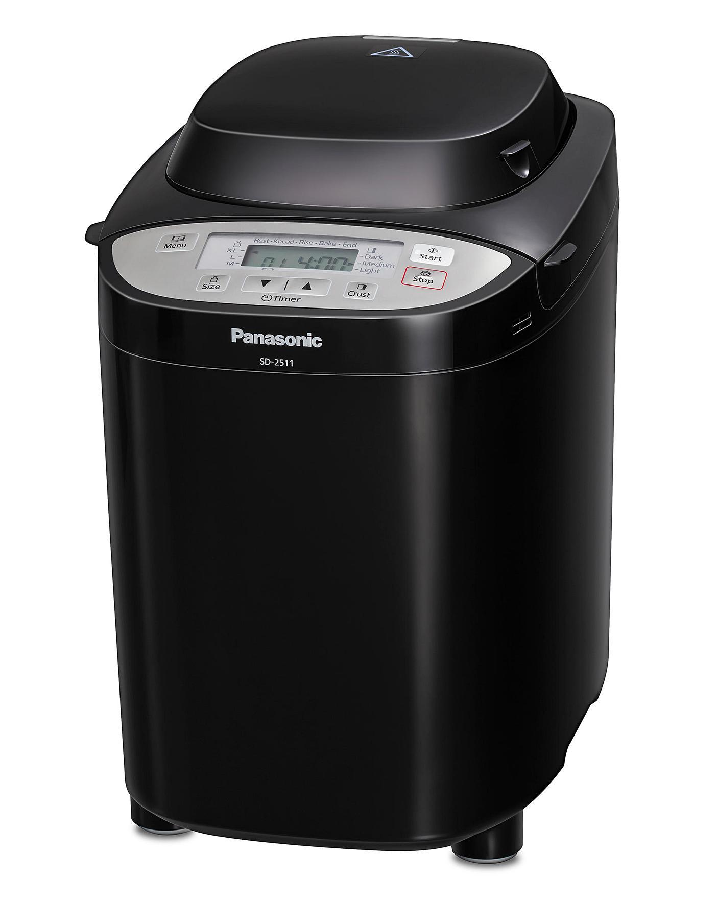 Panasonic SD2511 Black Breadmaker with Raisin and Nut Dispenser £127.40 at Ambrose Wilson